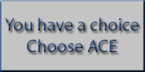 You have a choice - Choose ACE Auto Body Collision Experts